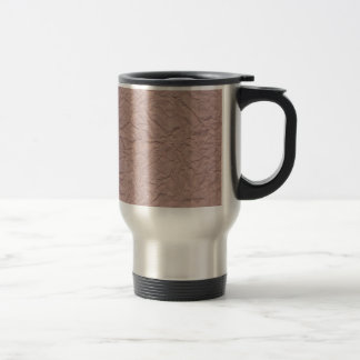 Wrinkled Paper Texture Travel Mug