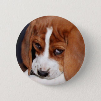 Wrinkled Puppy Button