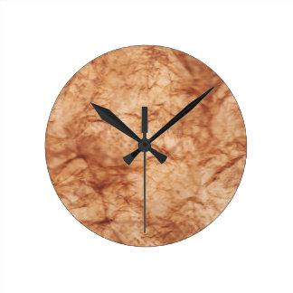 Wrinkled Round Clock