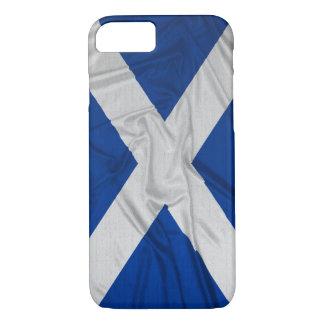 Wrinkled Scotland Flag iPhone 7 Case