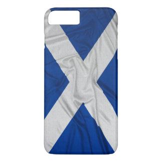 Wrinkled Scotland Flag iPhone 7 Plus Case