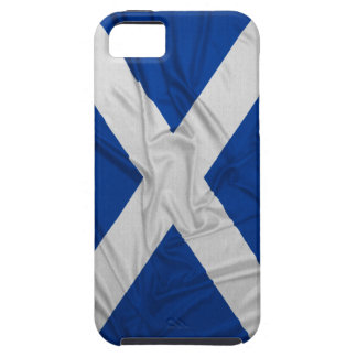Wrinkled Scotland Flag iPhone SE/5/5s Case