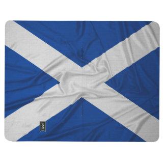 Wrinkled Scotland Flag Journal