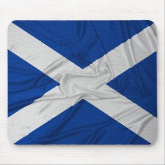 Wrinkled Scotland Flag Mouse Pad