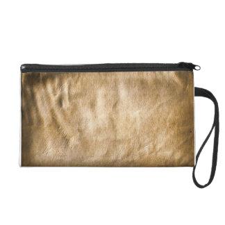 Wrinkled Stained Paper Look Bagettes Bag Wristlets