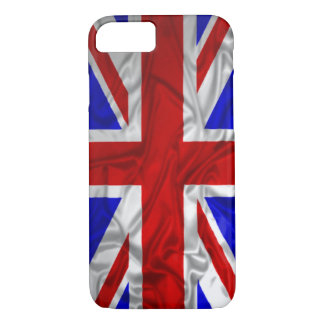 Wrinkled Union Jack Flag iPhone 8/7 Case