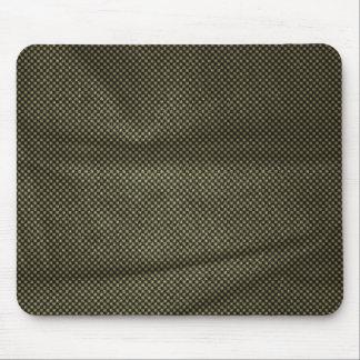 Wrinkled Vintage Black White Pattern Mouse Pad