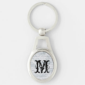 Wrinkled White Paper with Writing background Keychain