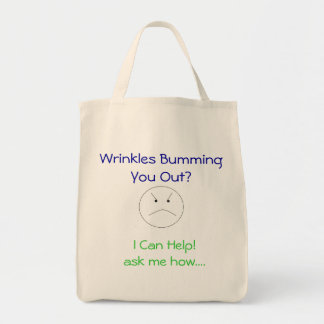 Wrinkles Bumming You Out?? Tote Bag
