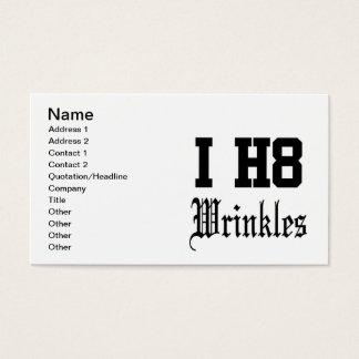 wrinkles business card