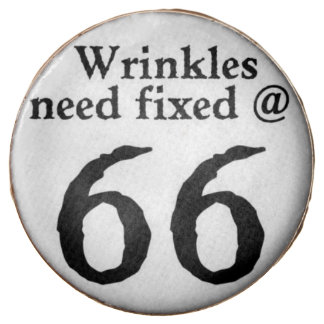 Wrinkles Fixed at 66!! Chocolate Covered Oreo