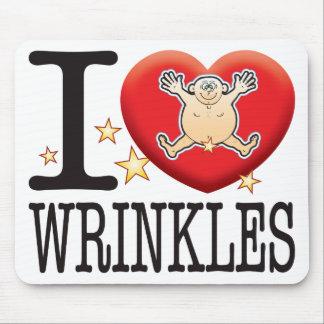 Wrinkles Love Man Mouse Pad