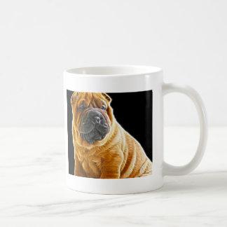 Wrinkles, The Chinese Shar Pei Puppy Dog Coffee Mug