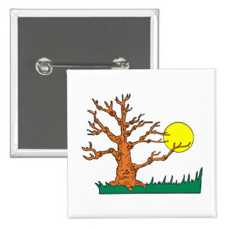 wrinkly brown tree moon grass graphic buttons