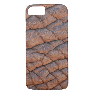 Wrinkly Elephant Skin Texture Template iPhone 8/7 Case
