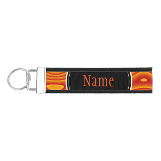 Wrist Keychain, Custom Colors, Name, Phone Number Wrist Keychain