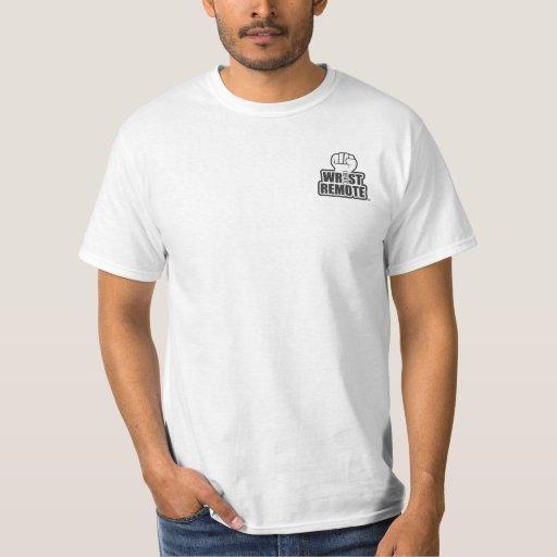 Wrist Remote Pocket Buster T Shirts