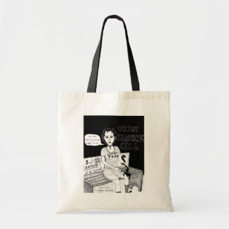 Wrist Slashing Girl Tote