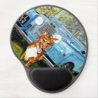Wrist supported Gel Pad Mouse Mat Gel Mouse Pad