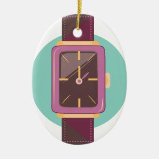 Wrist Watch Ceramic Ornament