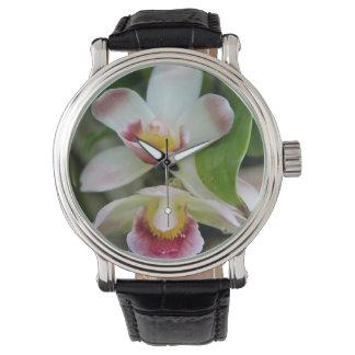 Wrist Watch - Fan Shaped Orchid