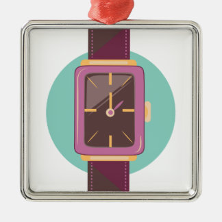 Wrist Watch Metal Ornament
