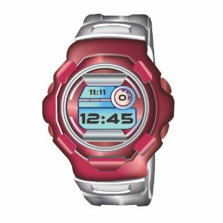Wrist Watch Photo Sculpture Keychain