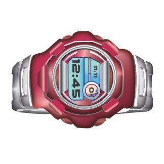Wrist Watch Photo Sculpture Button