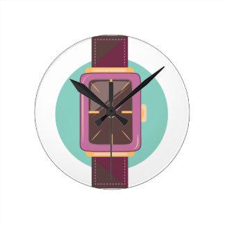 Wrist Watch Round Clock
