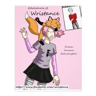 Wristance Flyer