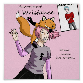 Wristance Poster