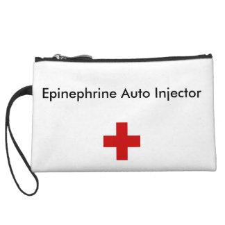 Wristlet bag for epinephrine injector