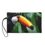 Wristlet Bagettes Bag, Awesome Toucan