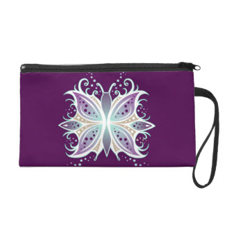 Wristlet Butterfly Abstract
