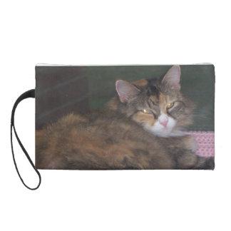 Wristlet-Calico Cat Wristlet Purse