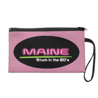 Wristlet MAINE STUCK IN THE 80'S