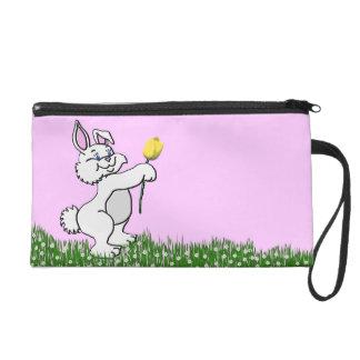Wristlet - Mini-Purse - Bunny & Tulip