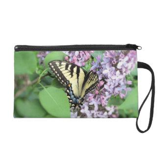 Wristlet - Mini-Purse - ET Swallowtail on Lilac