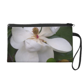 Wristlet - Mini-Purse - Southern Magnolia Blossoms
