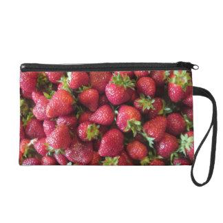 Wristlet - Mini-Purse - Summer Strawberries