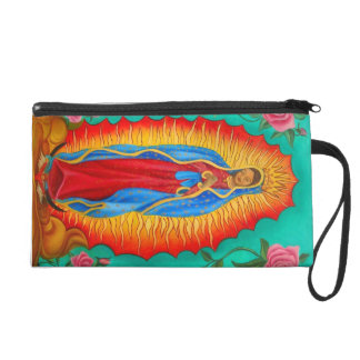 wristlet/ Our Lady of Guadalupe Wristlet