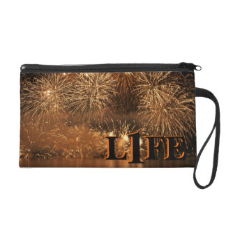 Wristlet purse in Celebration of life!