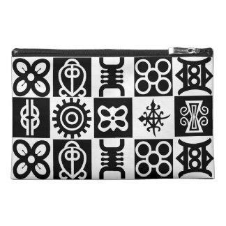Wristlet Purse Or Best Makeup Bags-African Symbols