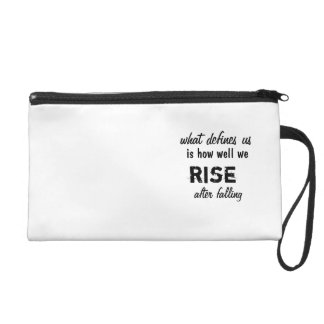Wristlet with inspirational quote 1