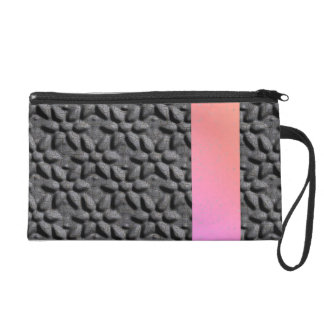 """Wristlet with """"Sunset"""" Strip in Pink Gradient"""