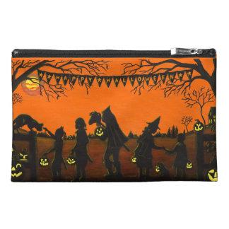 Wristlet,zippered,bag,Halloween,clutch,purse,dog Travel Accessories Bags