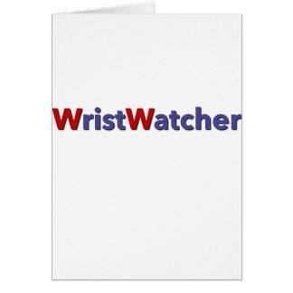 WristWatcher Card