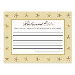 Writable Advice Card Sandy Postcard