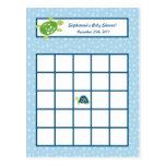Writable Bingo Card Turtle Reef Ocean Sea Turtle Post Cards