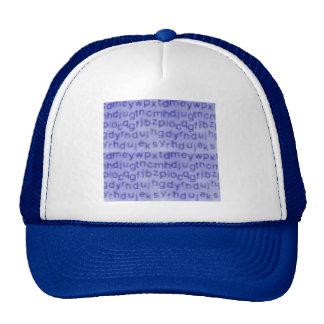 write009 trucker hat